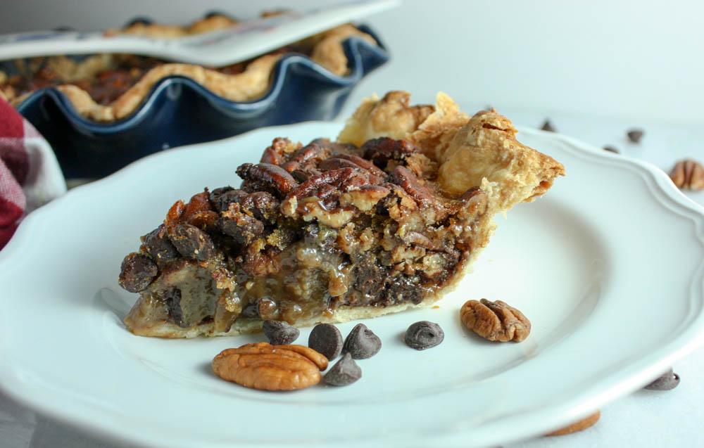 Velvety Chocolate and Pecan Pie