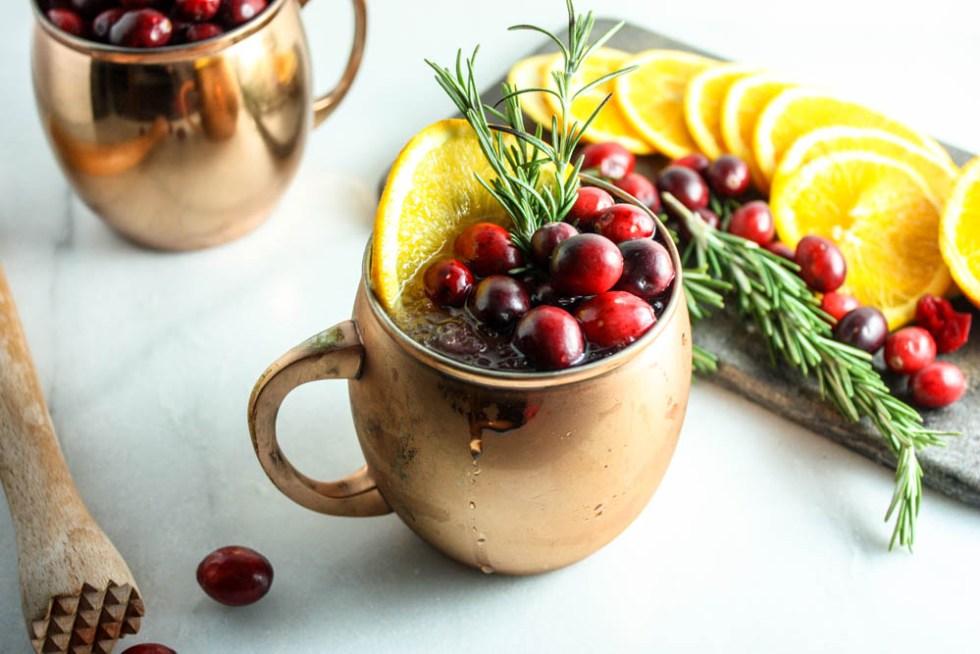 Festive & Fruity Moscow Mule