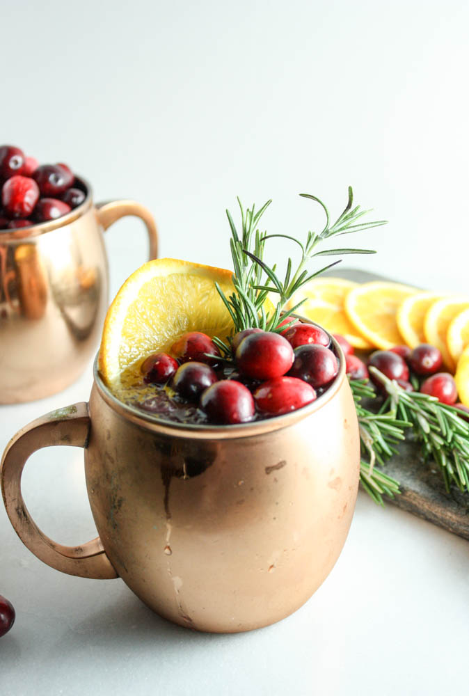 Cranberry Orange Yule Mule