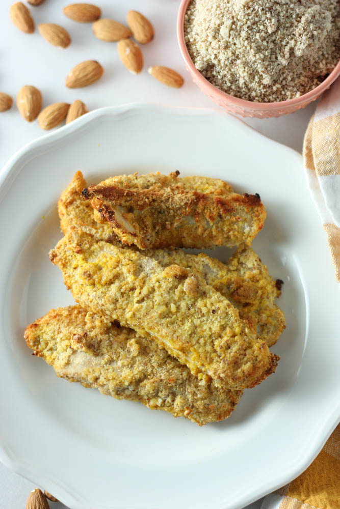 Almond Coconut Chicken Fingers
