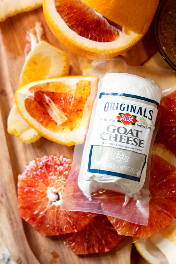 Goat Cheese and Blood Orange Combo