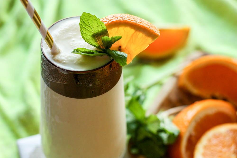 Paleo Orange Creamsicle Milkshake