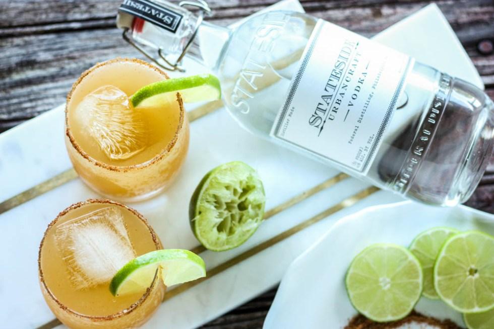 Chili Ginger Kombucha Cocktail