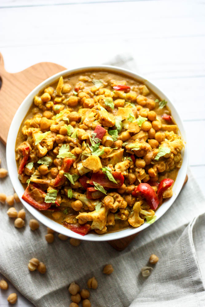 Vegan Pumpkin & Chickpea Curry