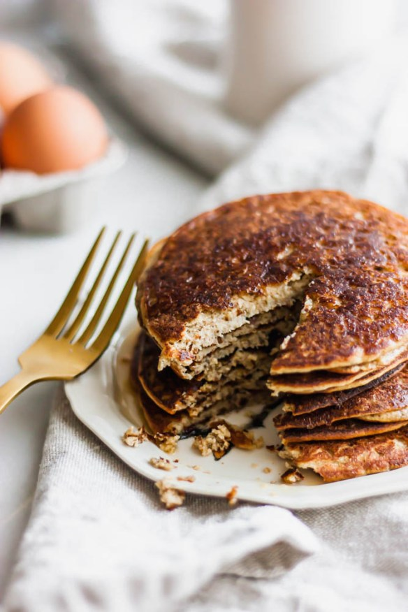 The Easiest Paleo Blender Pancakes