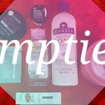 Beauty Empties / October 2016. Soap & Glory, Garnier, Aussie, Seventeen, The Body Shop, Dermalogica, Lancome & Snowberry.