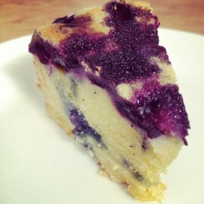 Gâteau au yaourt et myrtille (2)