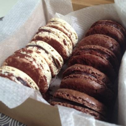 macaron chocolat1