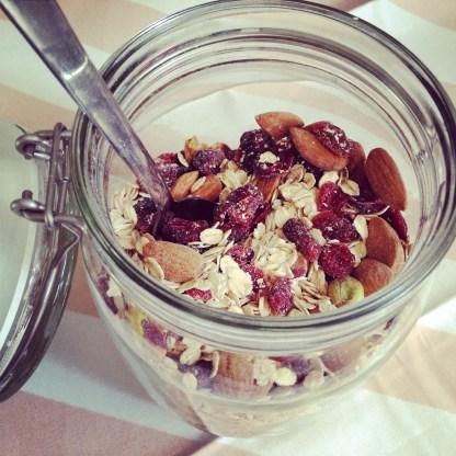 Muesli canneberge, pistache et amande (3)