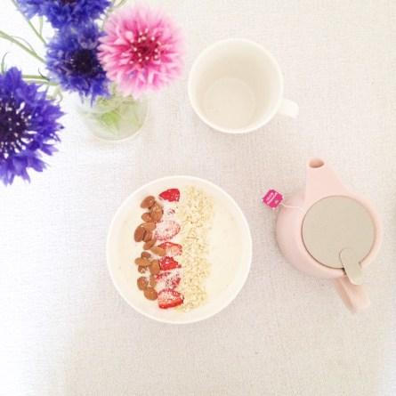 Smoothie bowl fraise banane (2)