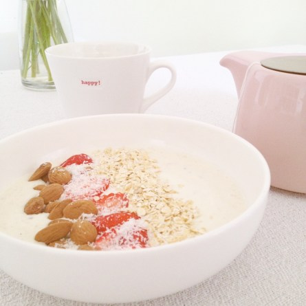 Smoothie bowl fraise banane (3)