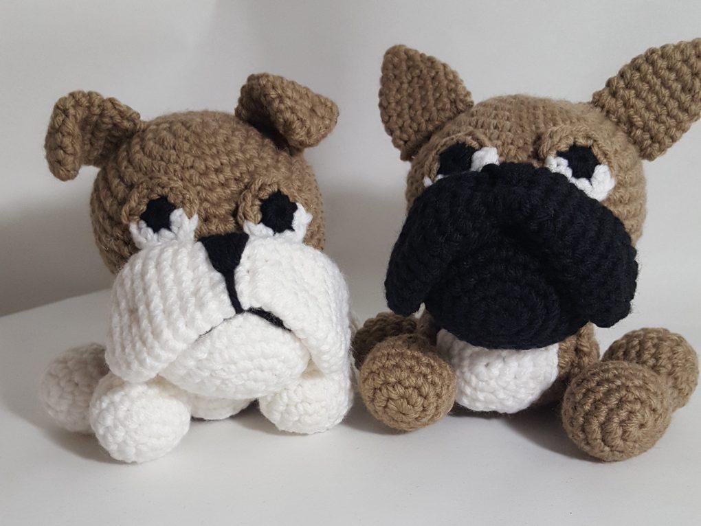 Crochet Bulldog Pattern PDF in English Amigurumi Bulldog | Etsy | 766x1020