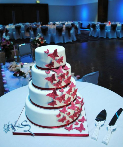 Wedding Cakes   Miss Cupcakes Butterfly wedding cake