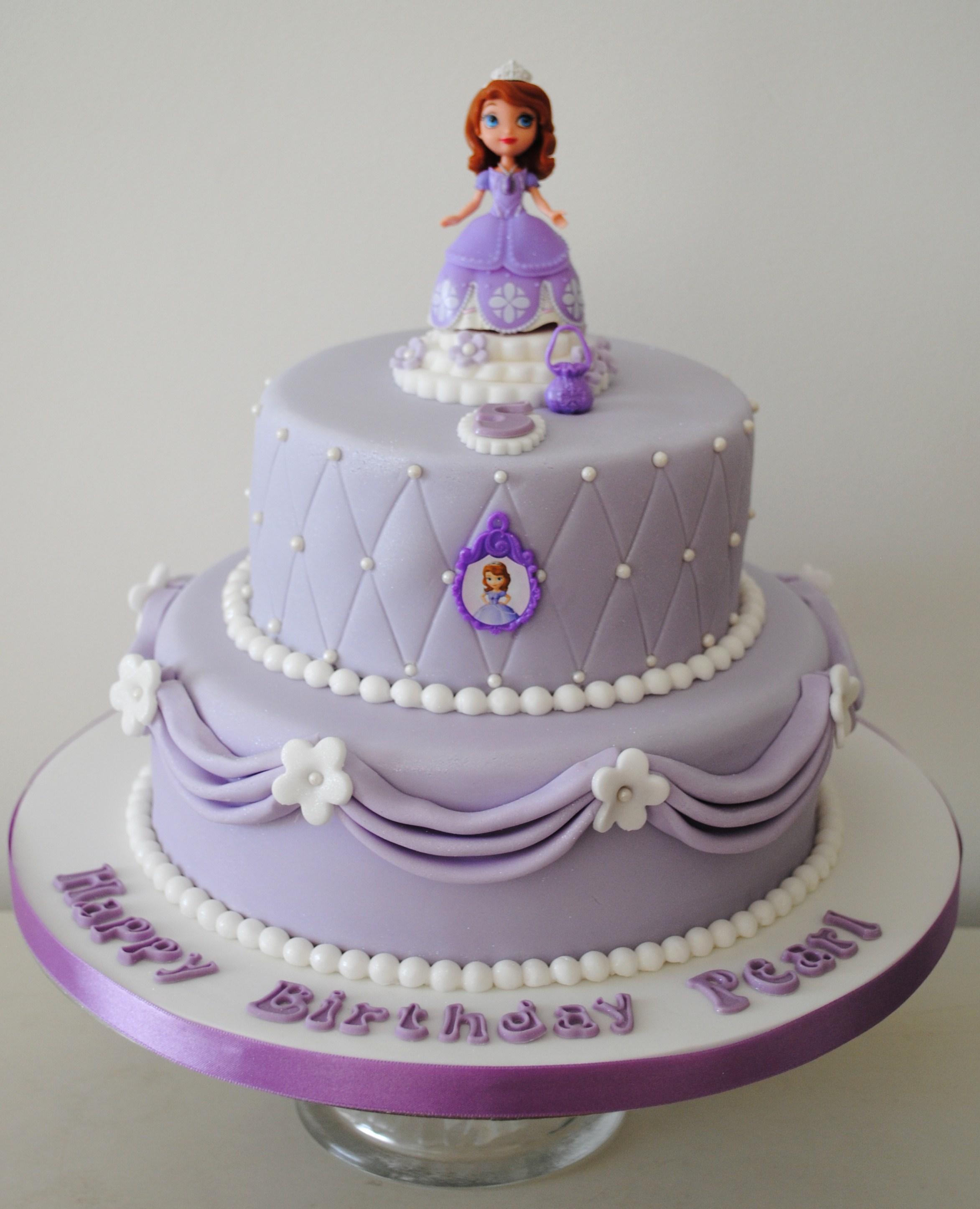 Sofia The First Birthday Novelty Cakes