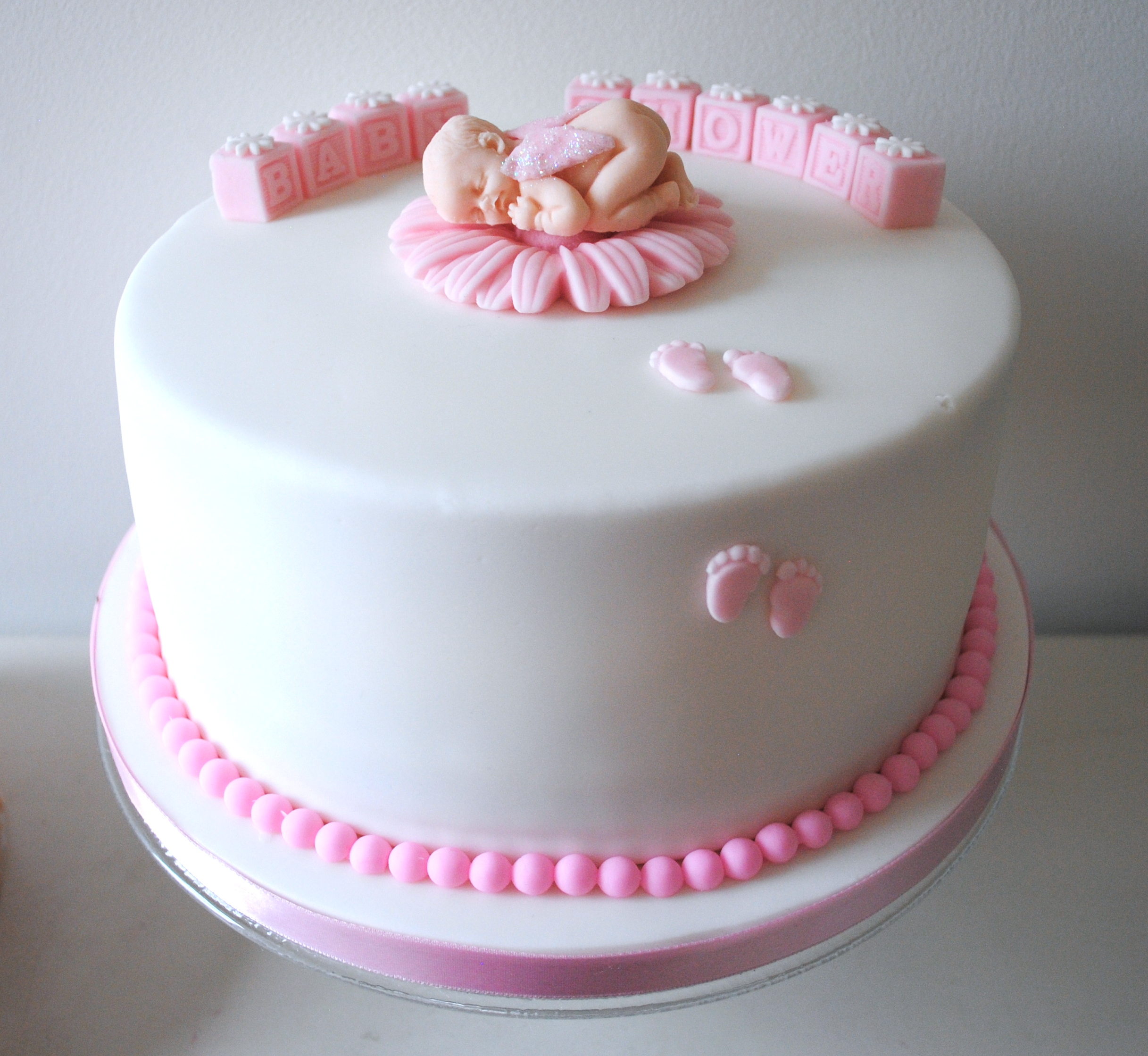 Miss Cupcakes Blog Archive Girl Baby Shower Cake