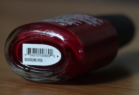 vinylux polish in bloodline