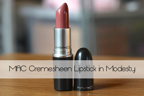 MAC Cremesheen in Modesty: A Great Nude to Nail that Interview!