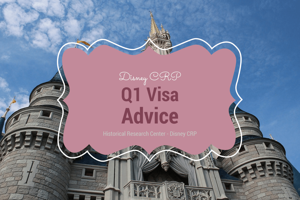 Advice for the Q1 Visa, Historical Research Center
