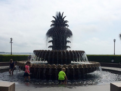 Pineapple Fountain, Waterfront Park, Charleston