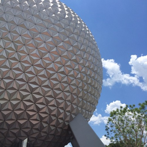 a park in a day; epcot