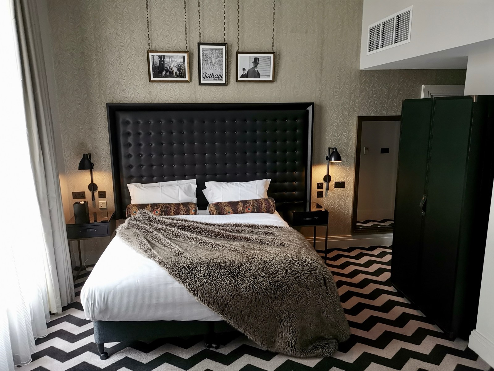 Bedroom at Hotel Gotham, Manchester