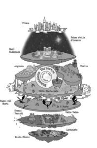 La mappa del mondo creato da Daisy Franchetto