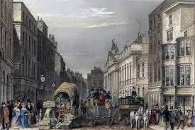 Un immagine della fumosa Londra vittoriana