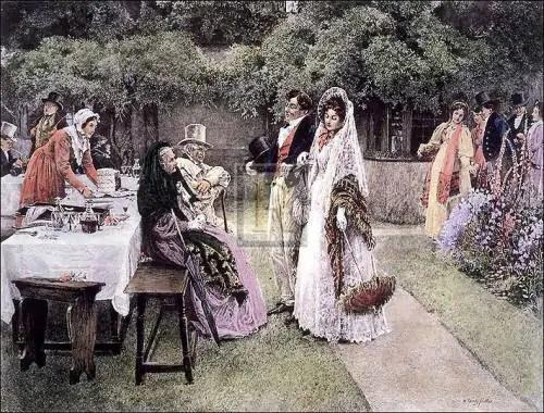 the-wedding-breakfast-by-walter-dendy-sadler-www-binbin-net