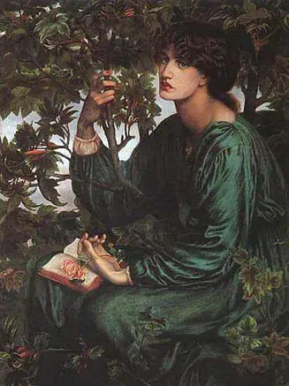 Jane nel quadro di Rossetti Day dream