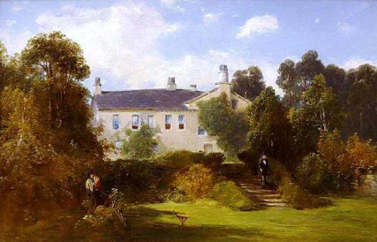 Wordsworth Manor White Moss House near Grasmere by William Hart 1852 oil on panel Albany Institute of History and Art DSC08054 1