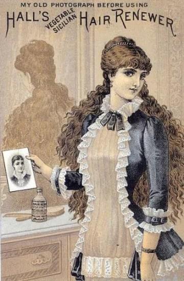 capelli in epoca vittoriana