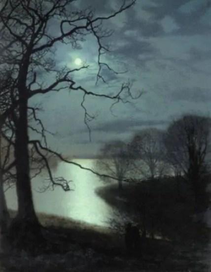 Atkinson Grimshaw campagna inglese nell'arte