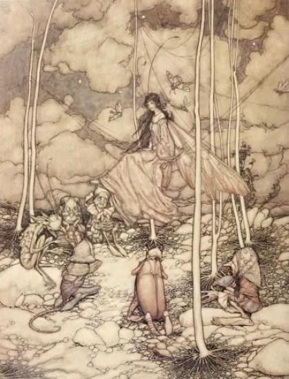 Arthur Rackham untitled 1904