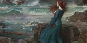 1916 Miranda   The Tempest JWW