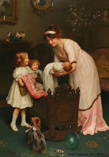 infanzia vittoriana maternità