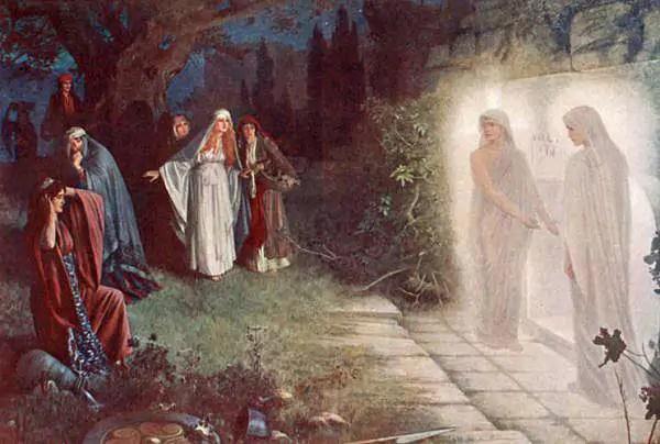 Herbert Gustave Schmalz Carmichael Resurrection Morn 1895