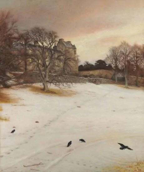 "John Everett Millais ""Christmas Eve"" 1887"