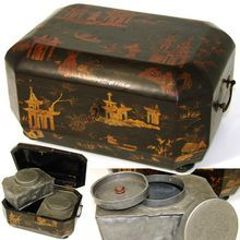 Tea caddy - le scatole da tè nell'800