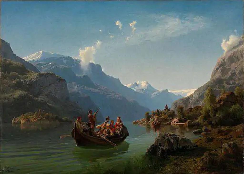 luna di miele nel 1800