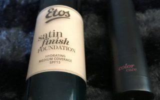Review   Etos foundation en lipstick