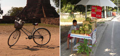 Cycling Around Ayutthaya