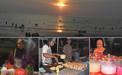 Beach life and the night market, Langkawi