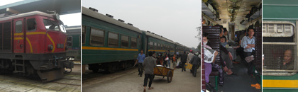 Train from Hue to Vinh