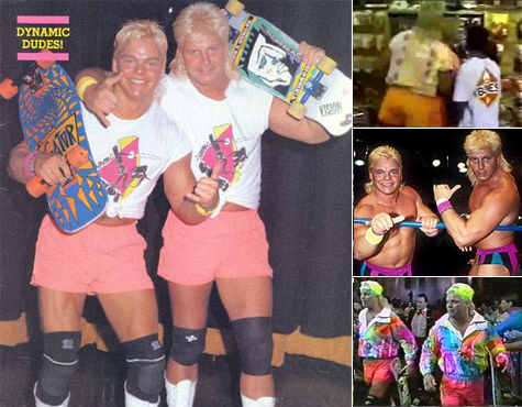 Are you guys Shane Douglas and Johnny Ace? Yes, I mean no, we're just some average, fun loving dudes.