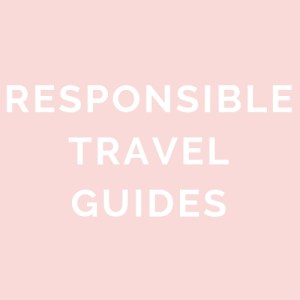 responsible travel guide