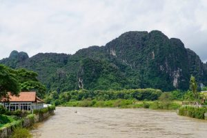 How to Spend One Day in Vang Vieng During the Rainy Season
