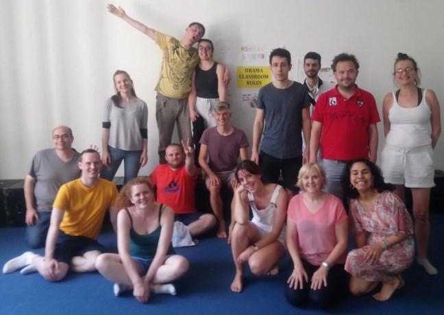 The English Improv Community (in Vienna)