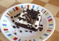 Brownies with Cream Cheese Icing