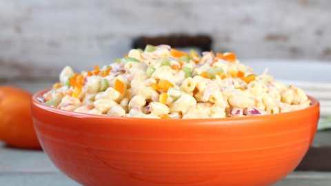 The Best Macaroni Salad (Sweet Macaroni Salad)
