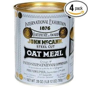 McCann's Steel Cut Irish Oatmeal
